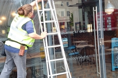 Nicky-cleaning-city-centre-bar