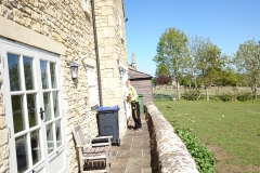 Traditional window cleaning in Colerne.